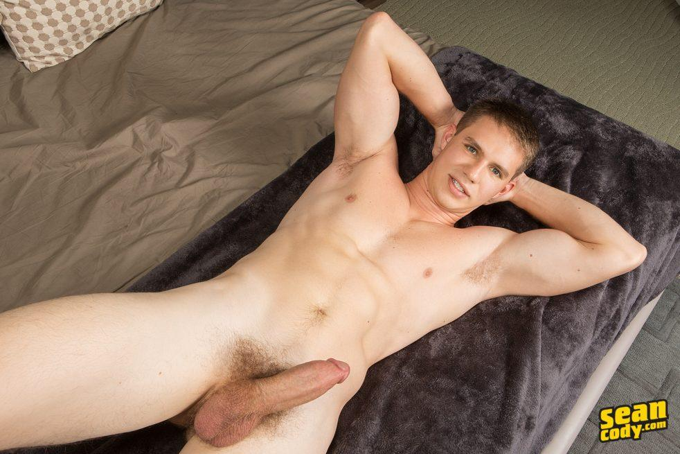 Sexy gay jock from Sean Cody with a thick cut cock