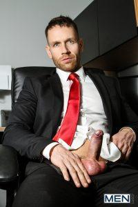 Gay Man Suit Cock Out